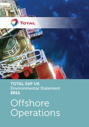 TOTAL E&P UK Limited - Department of Energy and Climate Change