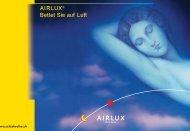 AIRLUX Prospekt - Online Betten