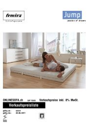 Femira Jump - onlinesofa.ch