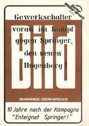 u. Axe/ Cäsar Springer der Propagandist für Strauß