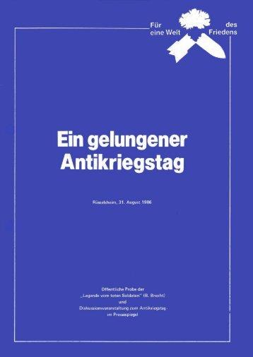 """Die """"Legende vom toten Soldaten"""" - Arbeiterbund für den ..."""