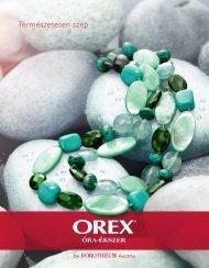 Tavaszi katalógus 2013 - Orex