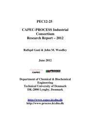 PEC12-25 CAPEC-PROCESS Industrial Consortium ... - DTU Orbit