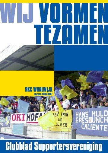 15 - Supportersverening RKC WAALWIJK - SV RKC