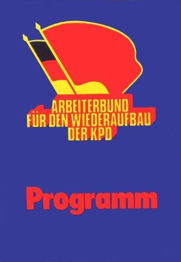 Karl - Arbeiterbund für den Wiederaufbau der KPD