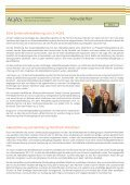 Newsletter - AQAS eV - Page 2