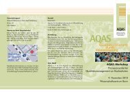 durch Akkreditierung - AQAS eV