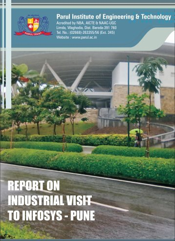 An Industrial Visit to Infosys, Pune