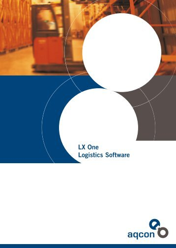 LX One Logistics Software - aqcon Consulting & Software GmbH