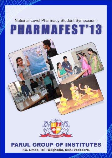 Pharma fest - 2013