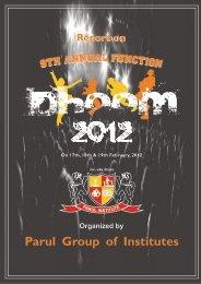 Dhoom 2012 - Gujarat Technological University
