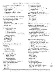 MOCK HOMEOPATHIC MD ENTRANCE TEST(Sample Paper)