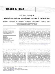 Methadone-induced torsades de pointes: A twist of ... - ResearchGate
