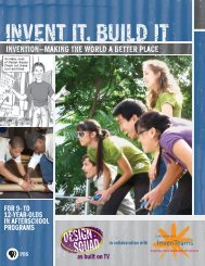 Cover, Welcome Letter, and Credits PDF - PBS Kids