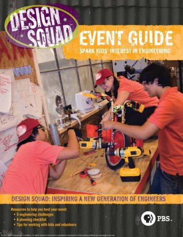 design squad: inspiring a new generation of engineers - PBS Kids