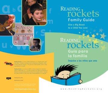 Guía para la familia Family Guide - Reading Rockets