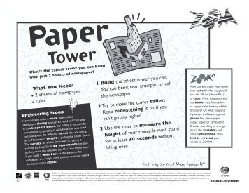 Paper Tower - PBS Kids