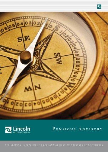 Pensions Advisory - Lincoln International
