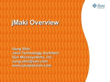 jMaki Overview