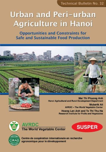 Urban and Peri-urban Agriculture in Hanoi