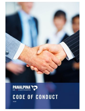 Pa code of conduct sim CN 200805