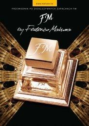 przewodnik po ekskluzywnych zapachach fm - Perfumy FM