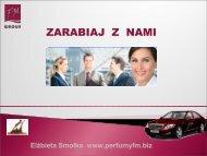 Zarabiaj z nami - Perfumy FM