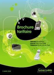 Brochure tarifaire - Numericable