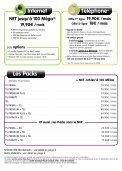 Brochure tarifaire - Numericable - Page 3