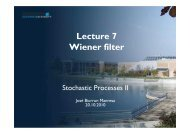 Lecture 7 Wiener filter