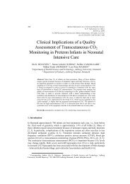Clinical Implications of a Quality Assessment of Transcutaneous ...