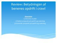 Review af opdrift i crawl