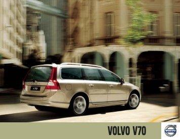2010 Volvo V70 Brochure (USA).