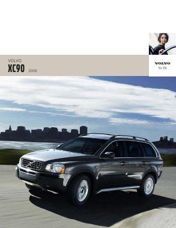 2006 Volvo XC90 Brochure