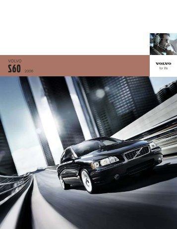 2006 Volvo S60 Brochure
