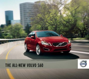 the all-new Volvo S60