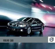 Volvo 2012 S80 Brochure - Barrier Volvo