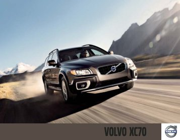 2010 Volvo XC70 Brochure (USA).