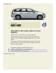 2008 Volvo V50 Quick Guide.pdf