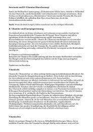 Vitamine der B-Gruppe - Peter-weck.de