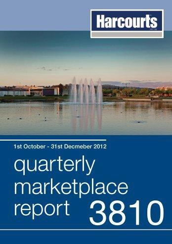 quarterly marketplace report 3810 - Harcourts