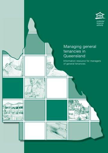 Managing general tenancies in Queensland - Harcourts