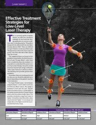 Low-Level Laser Therapy - ADVANCE for Physical Therapy ...