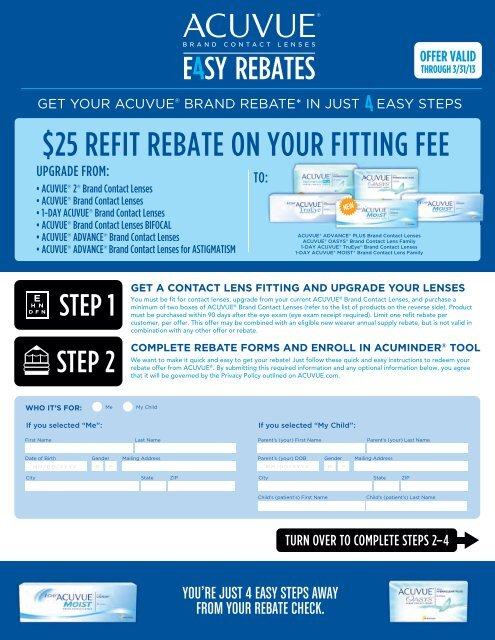 25 Refit Rebate On Your Fitting Fee