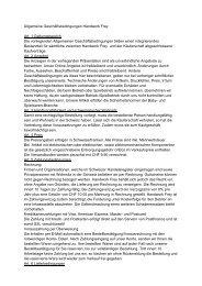 Allgemeine Geschäftsbedingungen Handwork Frey Art. 1 ...