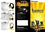 Kakkoii Headphone Series - Pioneer