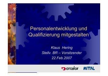 Personalentwicklung und Qualifizierung mitgestalten