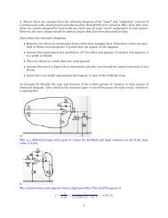 4. Shown below are excerpts from the schematic diagram of the ...