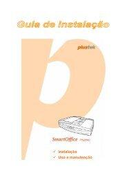 Scanner Manual for ADF Scanner - Plustek