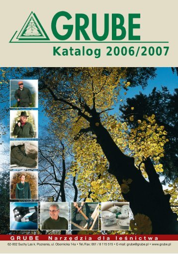Katalog 2006/2007 - Grube